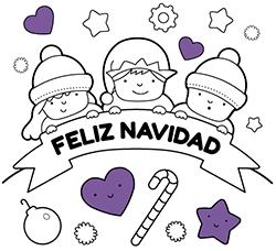 Dibujos De Navidad Para Colorear Online O Imprimir