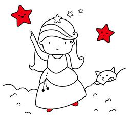 Dibujos Para Colorear Princesas Pintar Online O Imprimir