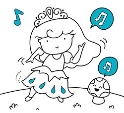 Dibujos Sin Colorear Dibujos De Cenicienta Princesa Disney Para