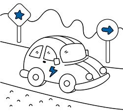 Dibujos Para Colorear Transportes Online O Imrpimir