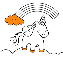 Dibujos Para Colorear Unicornios Pintar Online O Imprimir