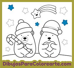 Dibujos Para Colorear Fáciles De Navidad