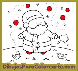 Dibujos De Papá Noel Para Colorear Online O Imprimir