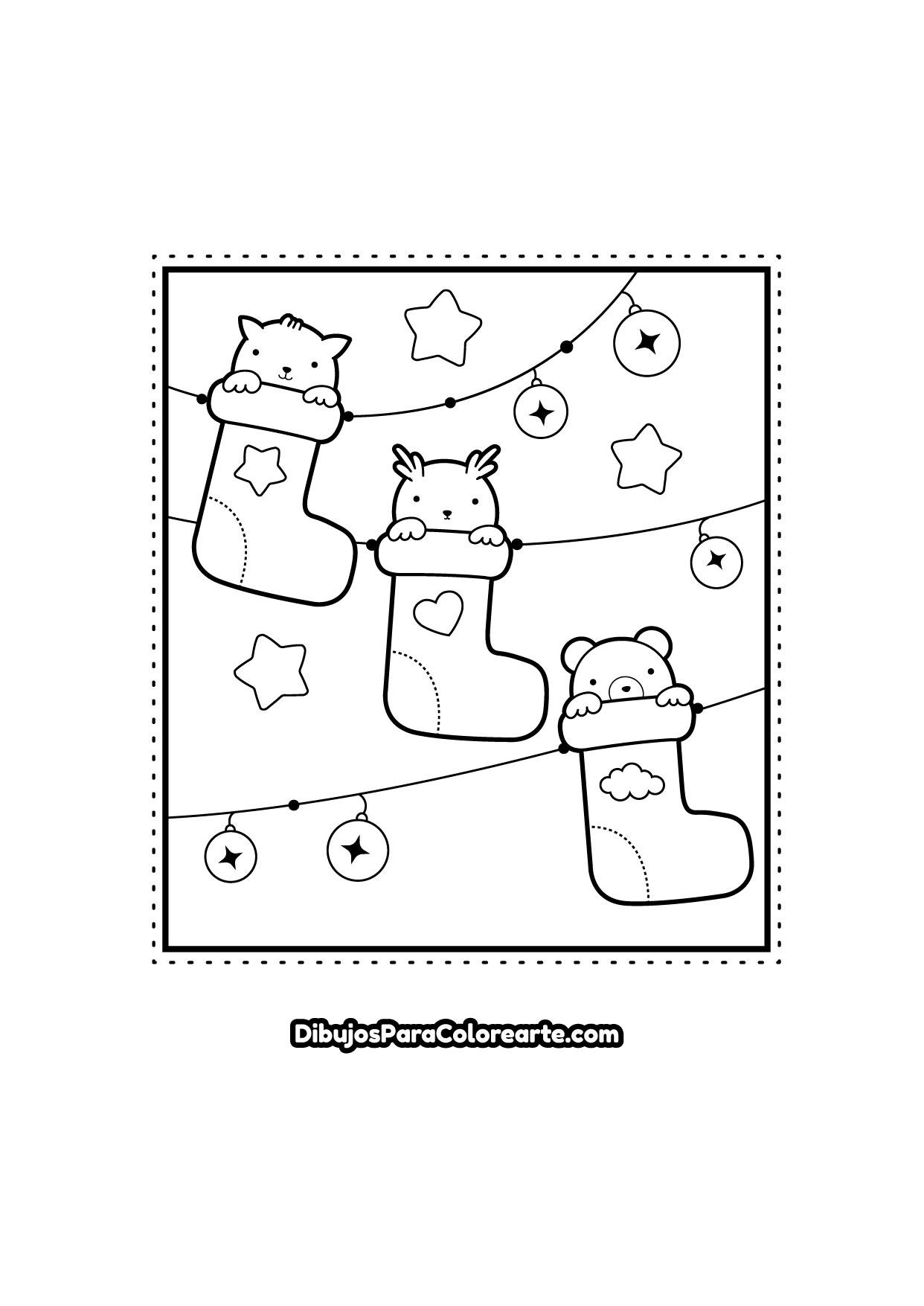 Dibujos Para Pintar De Navidad Dibujos Para Colorearte