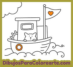 Dibujos Fáciles Para Pintar Barco